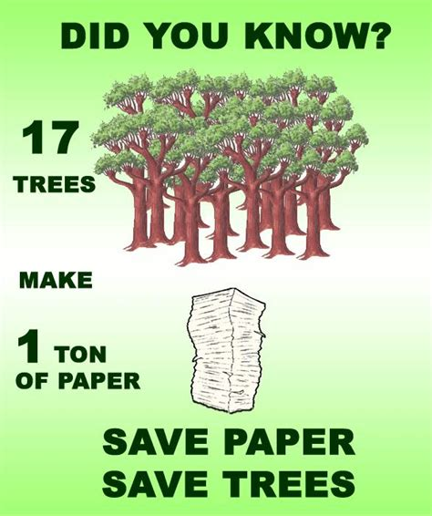 How Much Paper Does 1 Tree Make - 1 ton paper 17 trees save paper save trees clerkbase
