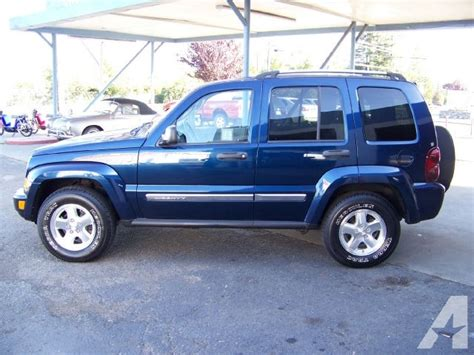 2005 Jeep Liberty Limited 2005 Jeep Liberty Limited For Sale In Ukiah California