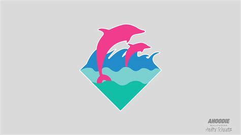 Pink Dolphin Logo Wallpaper pink dolphin clothing wallpaper wallpapersafari
