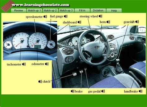 Parts Of A Car Interior by Car Interior Guide Org