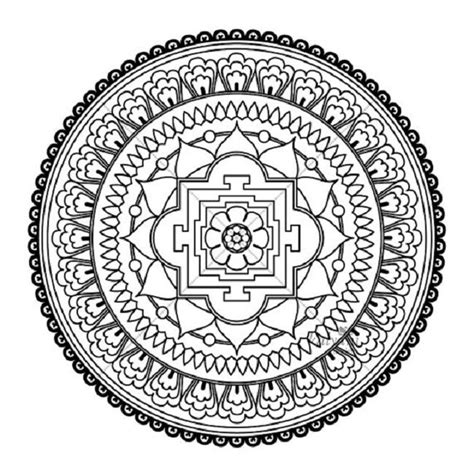 rectangle mandala coloring pages rectangle mandala coloring pages design