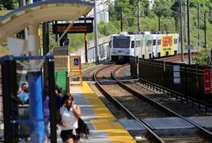 Md Light Rail by Three Light Rail Stations Reopen After A Week Despite