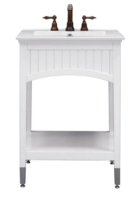 open shelf bathroom vanities sagehill designs sa2421 seaside white seaside 24 quot vanity