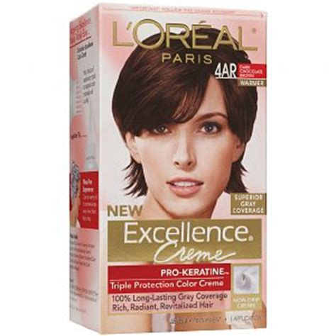 l oreal excellence creme protection color creme level 3 permanent medium ash l oreal excellence 4ar chocolate brown haircolor wiki fandom powered by wikia