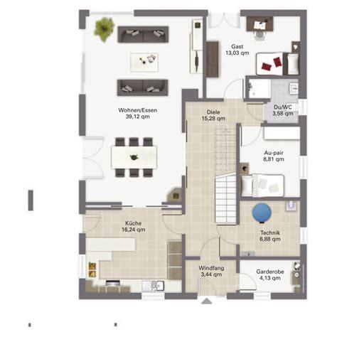 Haus 9x11 by Grundriss Einfamilienhaus Mit Gerader Treppe Artownit For