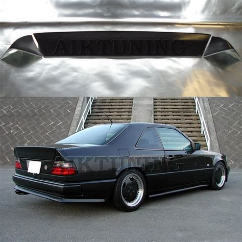 mercedes custom parts mercedes w124 amg style boot trunk spoiler