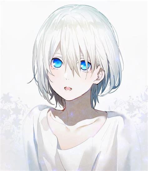 Androgynous Hairstyles Anime | original drawn by erubo image 4851671 by derek ye on