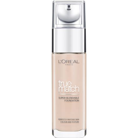 l shades l oreal true match foundation various shades