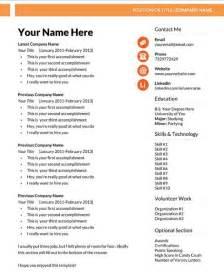 resume templates free microsoft resume format