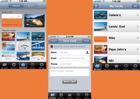 Exxonmobil Gift Card Customer Service - wildcard network inc unfurls wildcard gift card app for iphone mobiletor com