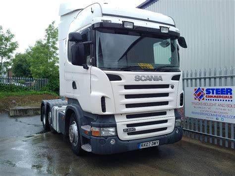 scania r420 tractor units year of manufacture 2007