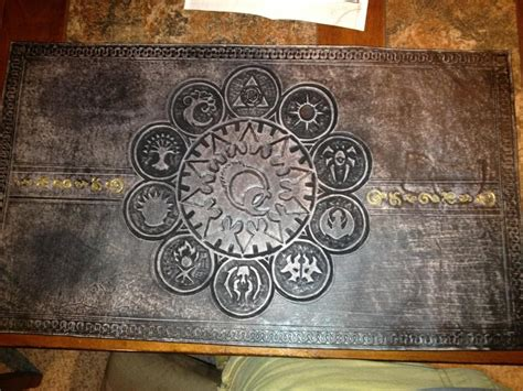 Magic The Gathering Mat by Magic The Gathering Leather Playmat By Deadlancesteamworks On Deviantart