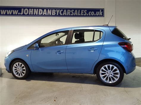 vauxhall blue used persian blue metallic vauxhall corsa for sale