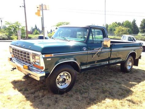 purchase used 1979 ford ranger f 350 cer special 2 door