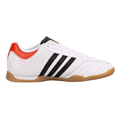 indoor sports shoes adidas 11questra junior indoor soccer shoes white