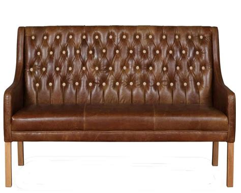 leather settee bench 22 inspirations leather bench sofas sofa ideas