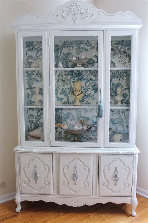 Kitchen Window Design Ideas vintage china cabinet bukit