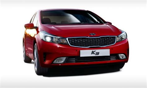 Kia Cerato Facelift 2016 Kia Cerato Facelift Revealed In Korean K3 Form