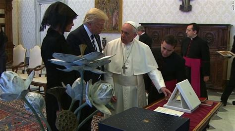 trump pope francis pope trump meeting agenda climate change terrorism