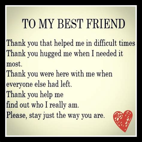 thank you letter to friend for support thank you letter to best friend 28 images thank you my