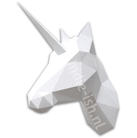 Diy Washi Tape by Unicorn Eenhoorn Paard Origami Vouw Pakket Wit