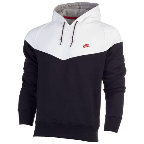 Hoodiesweater Nike E black nike hoodie mens uk sweater vest