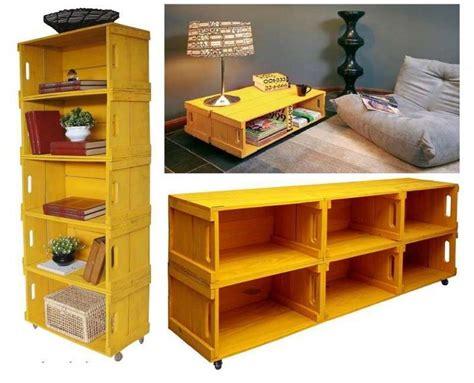 mobili con cassette di legno arredare casa con le cassette di legno foto 5 40