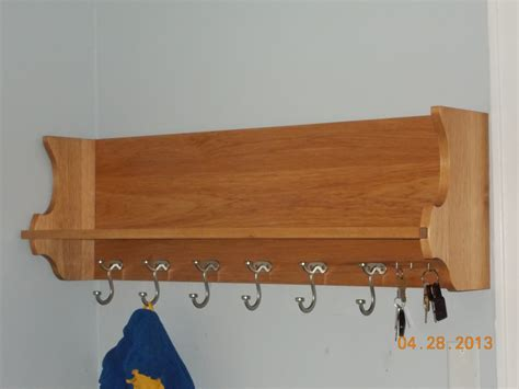 Wooden Coat Rack Shelf by Furniture Fascinating Wall Mounted Coat Rack With Shelf