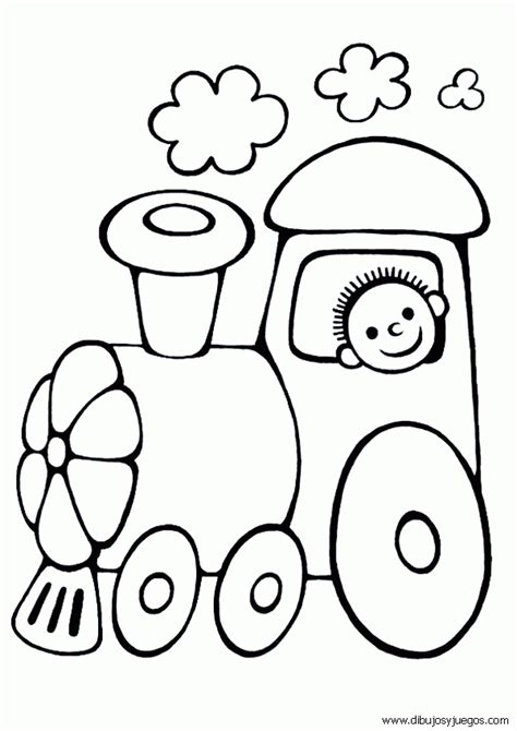 imagenes infantiles para colorear de trenes dibujo de tren para colorear 001 dibujos y juegos para