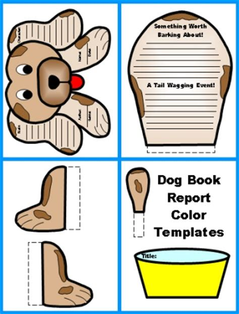 My Book Report Project Template Book Report Project Templates Worksheets Grading
