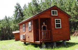 Prebuilt Tiny Homes Amish Log Cabin Down On The Property Teri Lafaye Youtube
