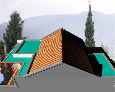 desain atap rumah kopel cara merancang model atap rumah kopel