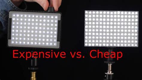 small lights small led light panel showdown