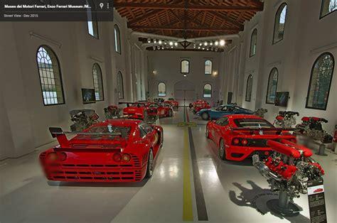 ferrari museum take three virtual tours of ferrari museums in google