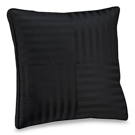 black bed pillows wamsutta 174 damask stripe black european pillow bed bath