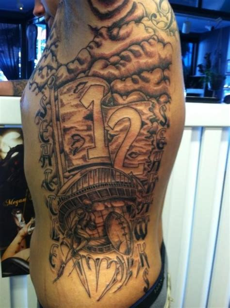 new school tattoo artists seattle seahawks seattle seahawks sports pinterest