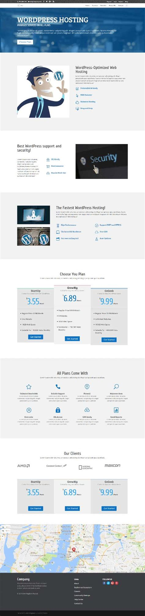 business directory layout design hosting company 1 page layout divi theme layouts