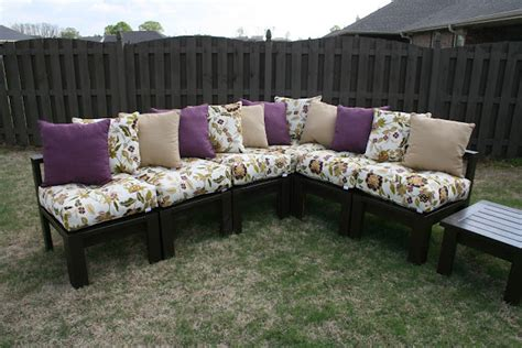 ana white outdoor sectional ana white outdoor sectional using 2x4 diy projects