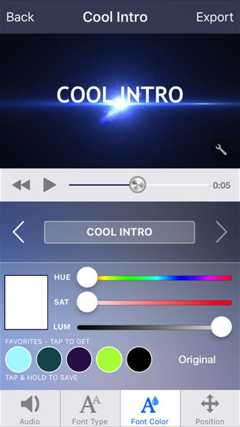 intro designer lite create intros for imovie free