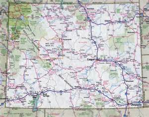 large map of colorado large detailed roads and highways map of wyoming state