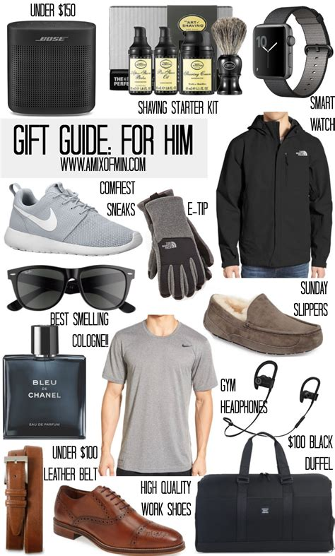 ultimate holiday christmas gift guide for him