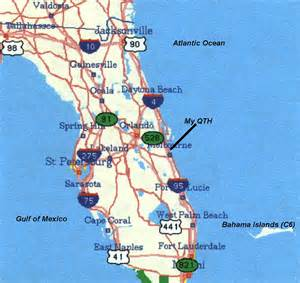 florida atlantic map qth info