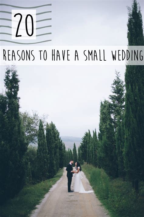 Small Wedding by 20 Reasons To A Small Wedding Intimate Weddings