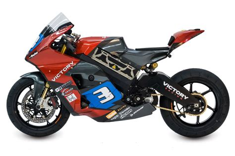 mitsubishi tv ls best buy victory built an electric race motorcycle for the