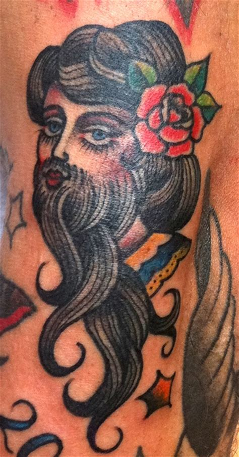 bearded lady tattoo best 25 circus ideas on outer space