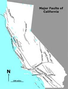 northern california fault lines map geology cafe