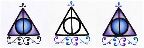 deathly hallows tattoo designs by watergirl1996 on deviantart