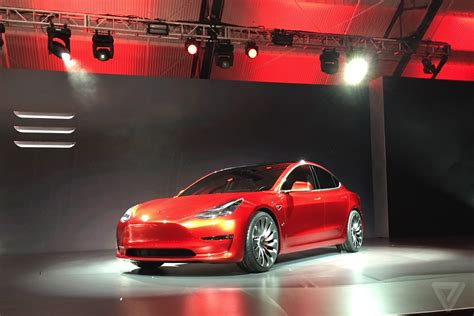What Is A Tesla Car Worth Tesla Model 3 Announced Release Set For 2017 Price