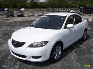 2004 rally white mazda mazda3 i sedan 8457277 gtcarlot