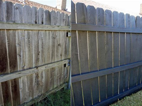 painting backyard fence fence painting and staining guide quick tips hgtv